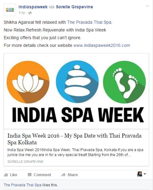 India Spa Week 2016