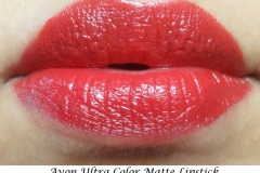 Avon_ultra_color_matte_lipstick_Garnet_Swatch