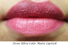 Avon_ultra_color_matte_lipstick_Lily_Swatch