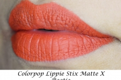 Colourpop-Lippie-Stix-Matte X-Bootie-Swatch