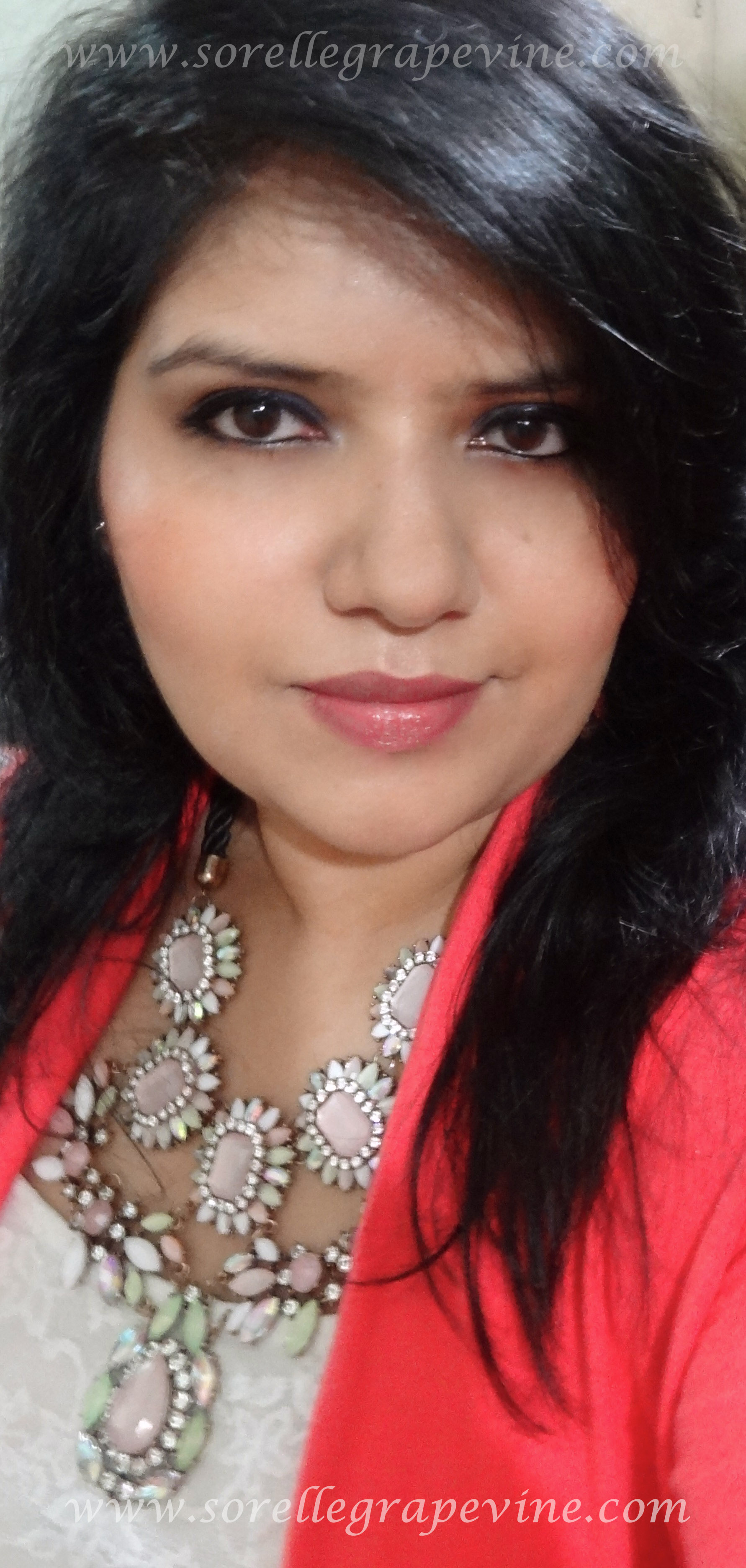 Makeup Look Featuring Clinique Chunky Cherry Chubby Stick Lipbalm