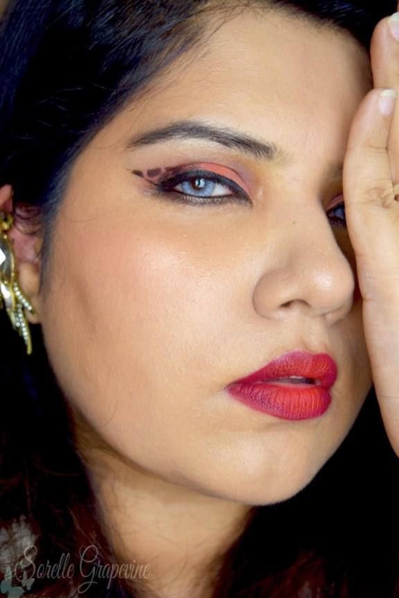 VIXX - Dynamite Inspired Edgy Makeup Look 1