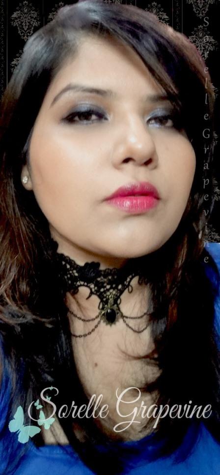 Smokey Eyes Makeup Look Featuring Bourjois Famous Fuchsia Lipstick