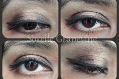 Soft Brown Halo Eye Makeup Look