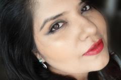 Makeup Look Featuring Avon Garnet Lipstick