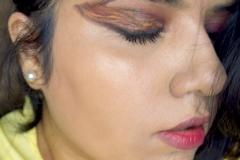 BTS - Fire Inspired Creative Makeup Look 1
