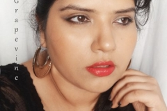 Makeup Look Featuring The Body Shop Red Siren Lipstick