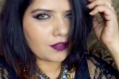 Plum Makeup Look 1